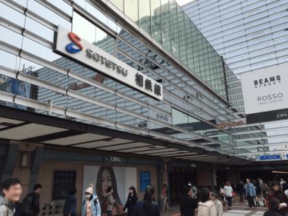 キレイモ横浜駅前店ルート01