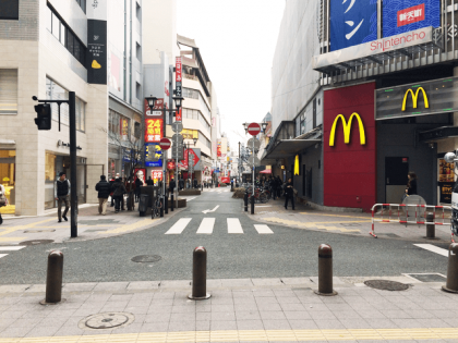 キレイモ福岡天神店ルート02
