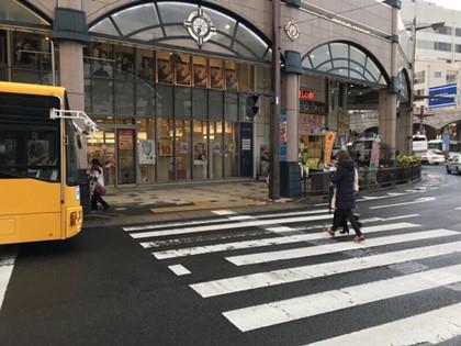 鹿児島いづろ通店のルート01