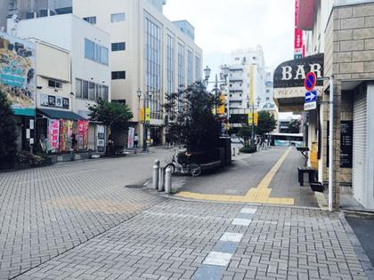 キレイモ宇都宮東武駅前店のルート3